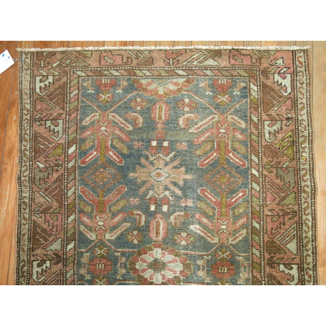 1920s Antique Persian Malayer, 3'1'' X 5'11'' For Sale - Image 5 of 8