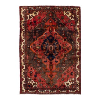 "BAKHTIAR Vintage Persian Rug, 6'11"" x 10'0"" feet"
