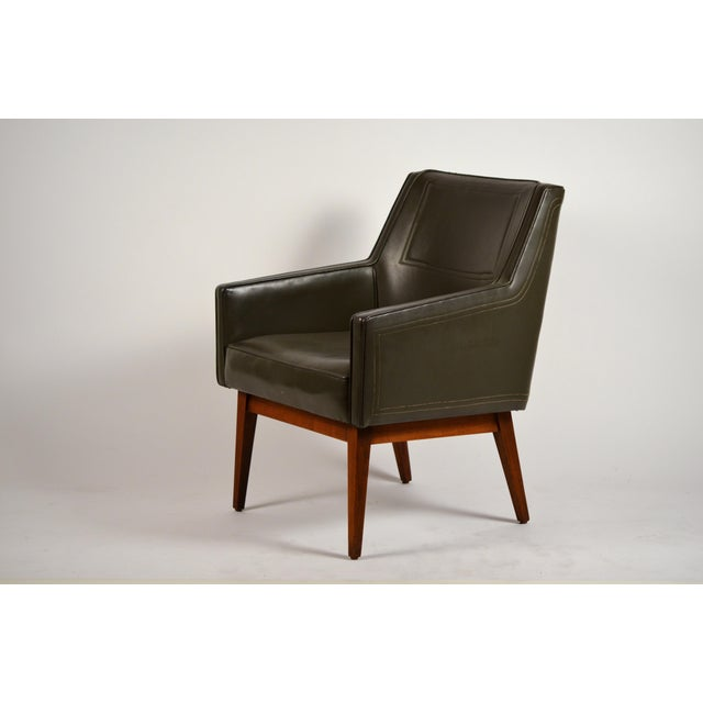 Wood Early Modernist Armchairs by Vista of California for Stow Davis - a Pair For Sale - Image 7 of 11