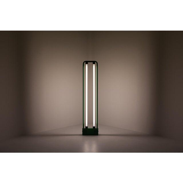 Gian Nicola Gigante Green Neon Floor Lamp For Sale - Image 6 of 8