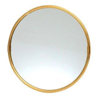 1970s Sergio Mazza Style Wall Mirror For Sale