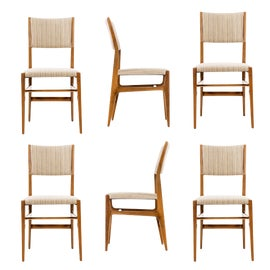 Image of Walnut Dining Chairs