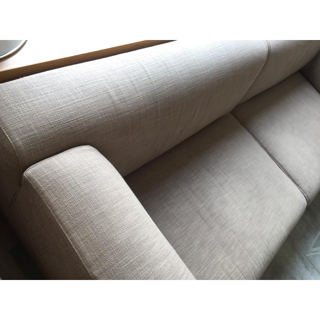 Tan Cassina Met 250 Beige Sofa by Piero Lissoni For Sale - Image 8 of 10
