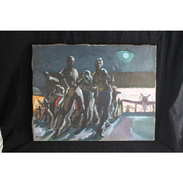 """Mid 20th Century Buchholz """"Airport Moonlight Dance"""" For Sale - Image 5 of 5"""