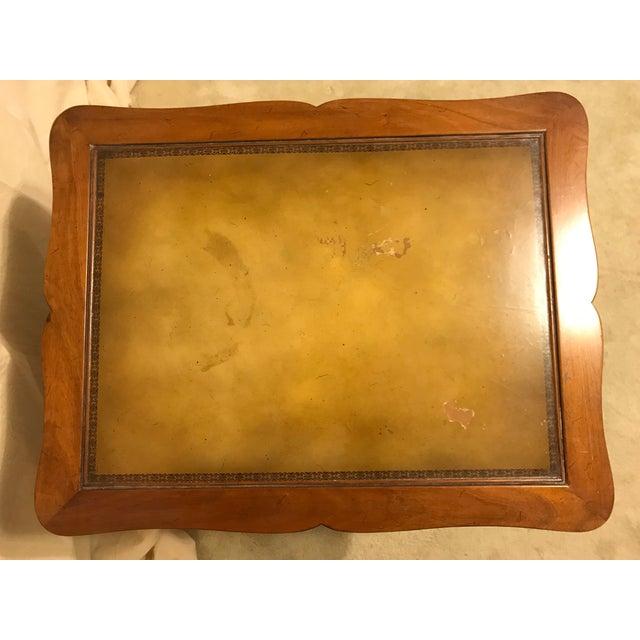 Henredon Wood End Table - Image 4 of 5