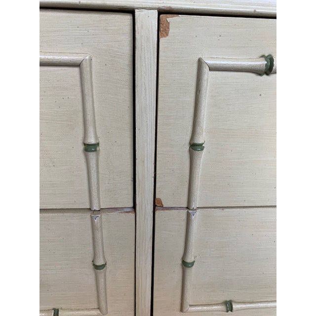 1970s Faux Bamboo Allegro by Thomasville Dresser For Sale - Image 10 of 11