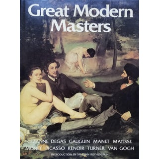 Great Modern Masters Coffee Table Book For Sale