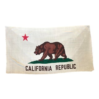 Vintage California Flag For Sale