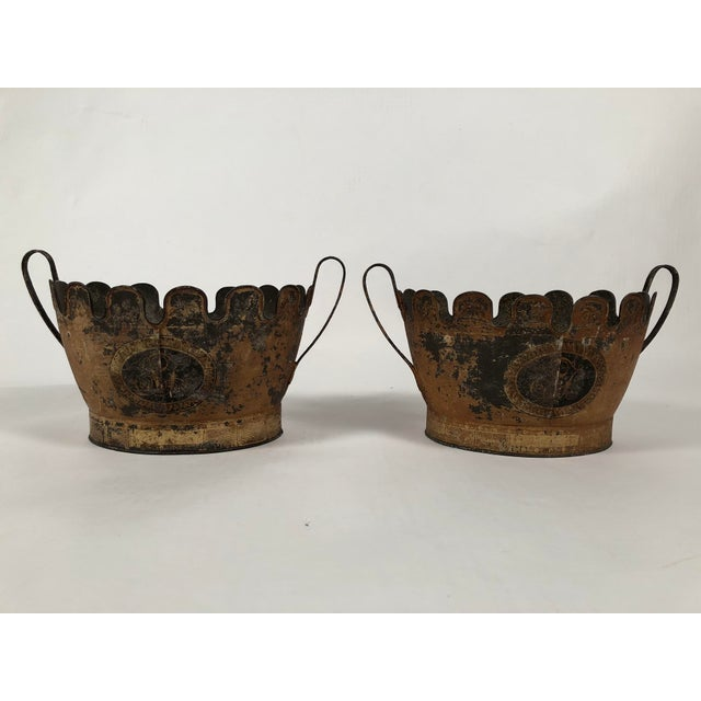 Tole Monteiths- A Pair For Sale - Image 11 of 11