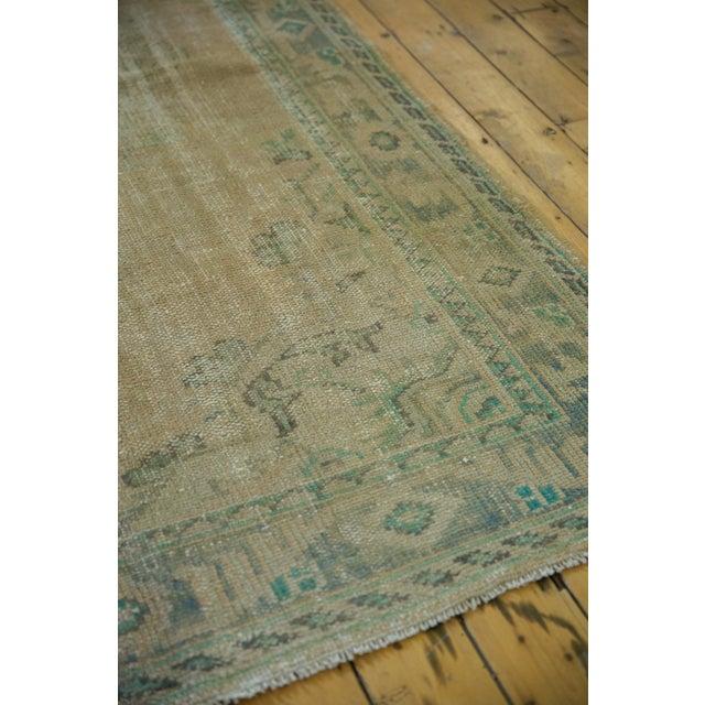 "1950s Vintage Distressed Oushak Carpet - 5'8"" X 8'3"" For Sale - Image 5 of 12"