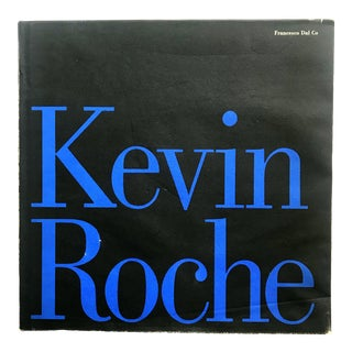 Kevin Roche, Architect, Book by Francesco Dal Co For Sale