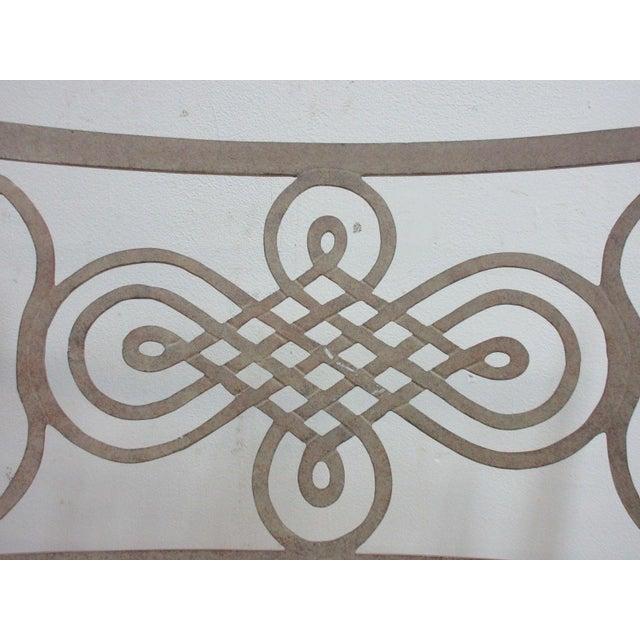 Traditional Woodard Landgrave Cast Classics Aluminum Patio Loveseat For Sale - Image 3 of 5