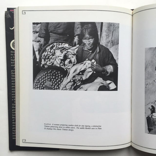"""Various Artists """"A Portrait of Lost Tibet"""" Cultural History Vintage 1980 1st Edtn Photography Book For Sale - Image 4 of 10"""