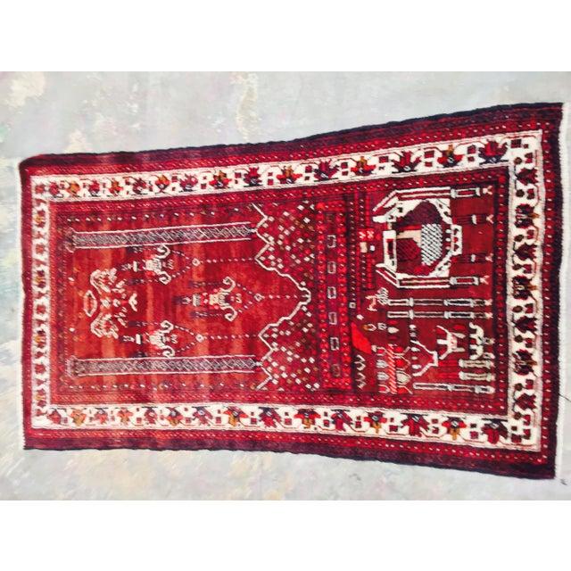 Baluchi Persian Handmade Rug - 2′6″ × 4′6″ - Image 3 of 9