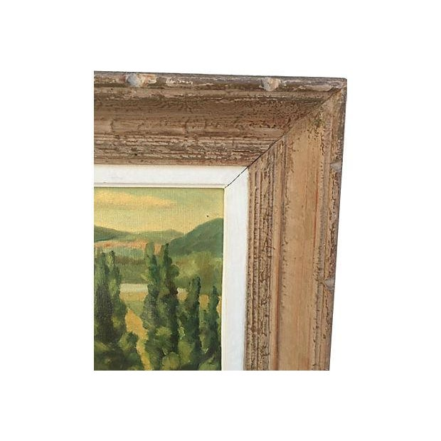 1955 French Landscape Oil Painting - Image 2 of 8