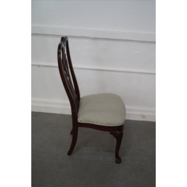 Ethan Allen 18th Century Mahogany Dining Chair - 6 - Image 5 of 10
