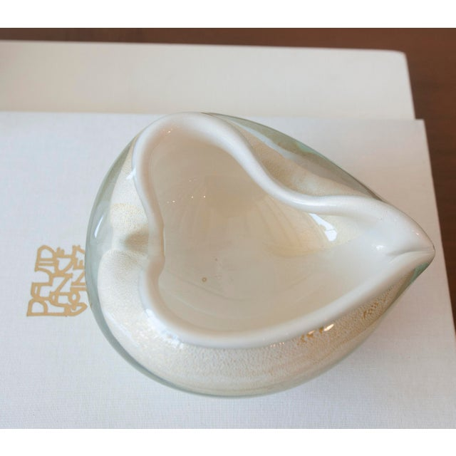 Vintage Murano Glass Heart Bowl - Image 10 of 11