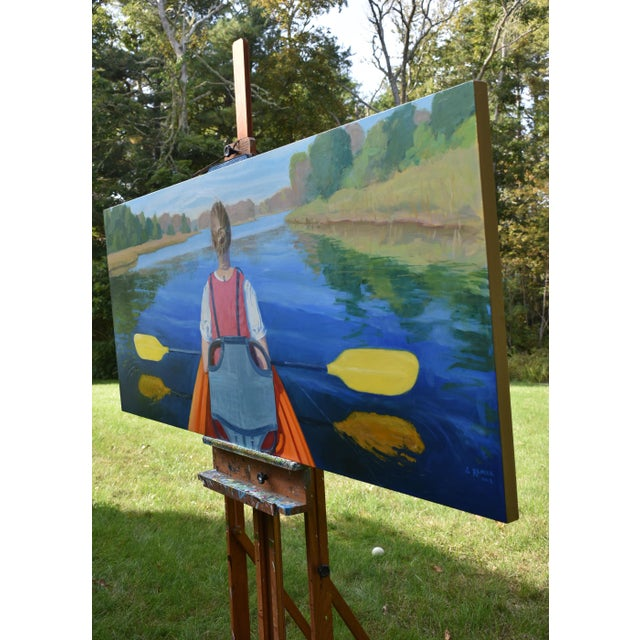 """""""The Journey"""". Large (32"""" X 80"""") Contemporary Painting by Stephen Remick For Sale - Image 11 of 13"""