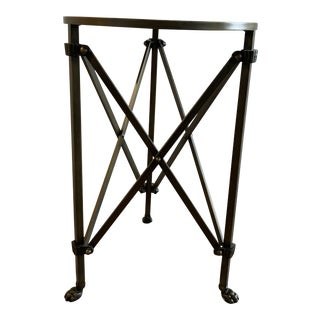 Ballard Designs Olivia Mirrored Side Table For Sale