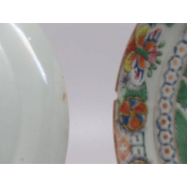Antique Chinese Mandarin Plates - a Pair For Sale In San Francisco - Image 6 of 6