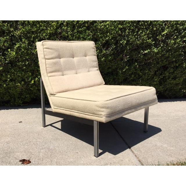 Florence Knoll Parallel Bar Lounge Chair - Image 2 of 6