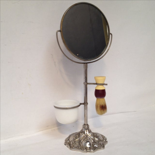 Antique Shaving Stand For Sale - Image 7 of 11