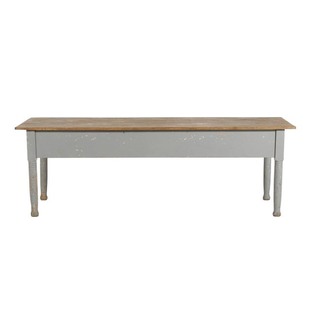 Early 20th Century American Farm Table For Sale In Chicago - Image 6 of 11