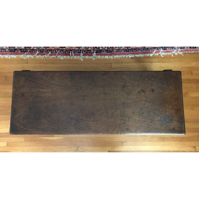 Antique French Henry II Style Walnut Low Boy Coffee Table For Sale - Image 11 of 13