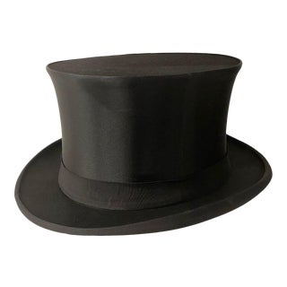1920s Saks Fifth Avenue Top Hat For Sale