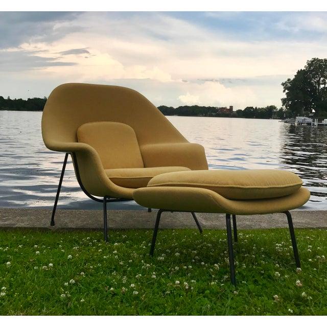 Eero Saarinen for Knoll Womb Chair & Ottoman - Image 5 of 10