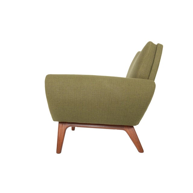 Johannes Andersen Lounge Chair in Olive - Image 5 of 11