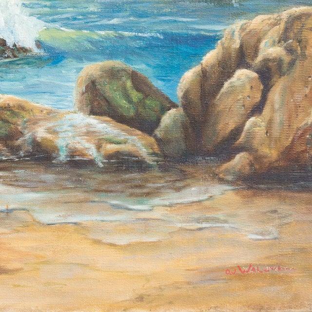 Catalina Island from Malibu by O.J.Walsh, 1955 - Image 4 of 5