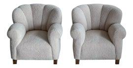 Image of Danish Modern Club Chairs