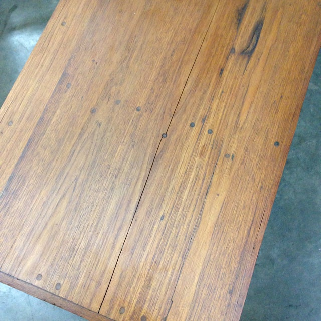 Antique Arts & Crafts Tree Branch Coffee Table For Sale In Los Angeles - Image 6 of 10