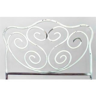 American Victorian Painted Iron Bentwood Design Bed Preview