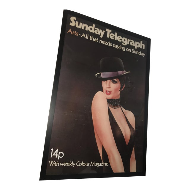1972 London Telegraph Lisa Minnelli Cabaret Poster - Image 1 of 11