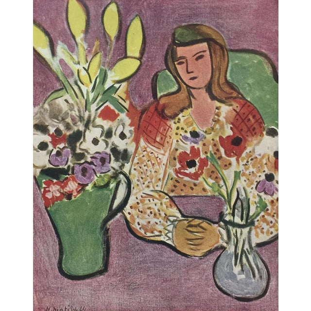 1940s 1943 Matisse Portfolio Lithographic Prints Book For Sale - Image 5 of 13