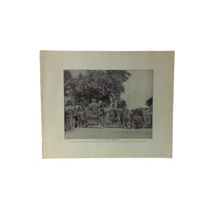 "Antique Glimpses of India Print, ""h.e. The Viceroy's Elephant, Circa 1890 For Sale"