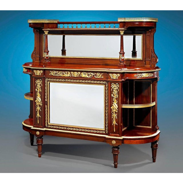19th Century French Bronze Mounted Sideboard For Sale - Image 4 of 5