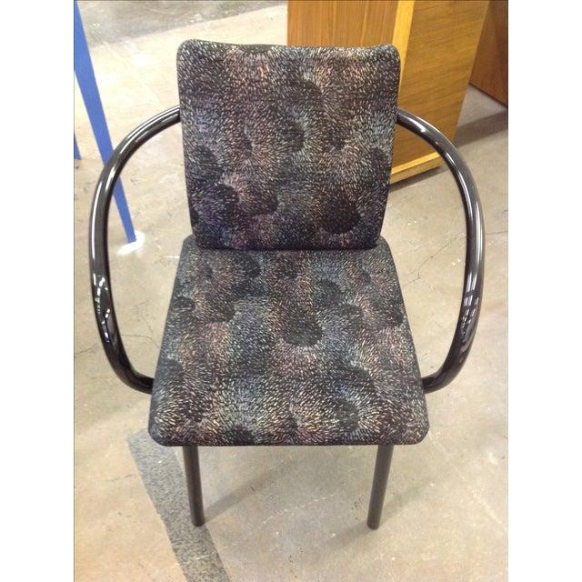 Knoll Ettore Sottsass Mandarin Chairs - A Pair - Image 7 of 9