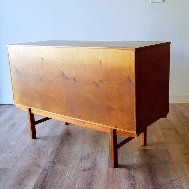 Vintage Folke Ohlsson for Dux Style Teak Credenza For Sale - Image 11 of 13