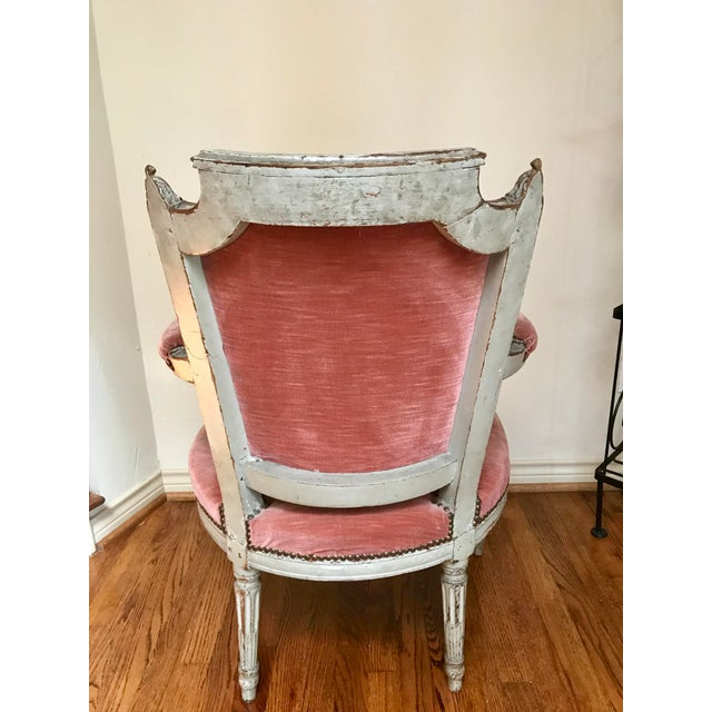 French 1900 French Louis XVI Chair For Sale - Image 3 of 8