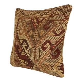 Vintage Turkish Kilim Pillow For Sale