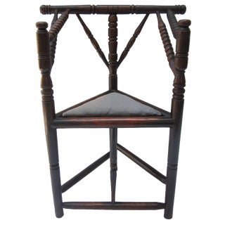 Primitive Corner Chair For Sale