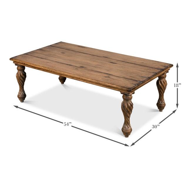 Sarreid Ltd. Sarreid Renaissance Coffee Table For Sale - Image 4 of 6