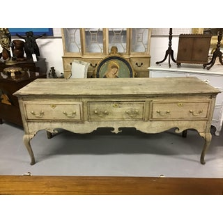 English Oak 18th Century Queen Anne 3 Drawer Sideboard ~ Welsh Dresser Preview