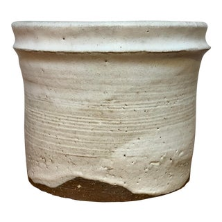 Round Pottery Vase For Sale