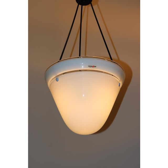 Late 20th Century Mid-Century Modern Murano Glass Pendant Lamp For Sale - Image 5 of 13