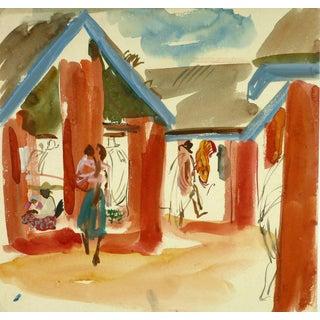 Stéphane Magnard, African Market For Sale