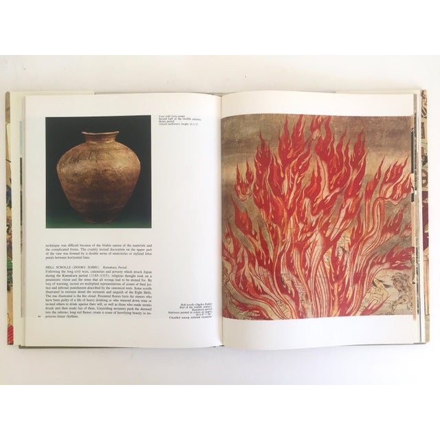 """Cardboard """" National Museum Tokyo """" Vintage 1968 Rare Collector Hardcover Art Book For Sale - Image 7 of 11"""